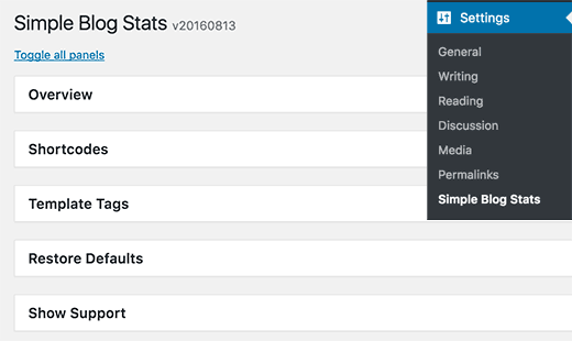 installare-simple-blog-stats
