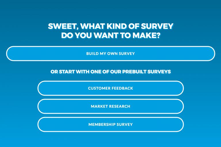 Instant survey