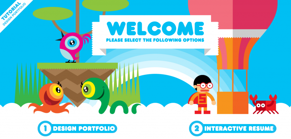sito interattivo curriculum